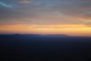 cheaha sunset