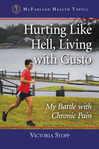 hurting like hell, living with gusto