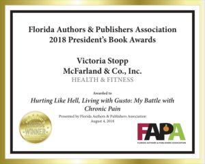 FAPA gold award