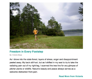 trail running chronic pain