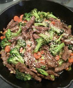 low iron food